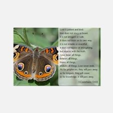 Bible Verse I Cornthians Magnets