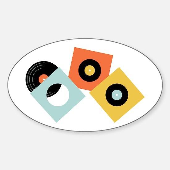 Vinyl Records Decal