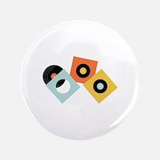 "Vinyl Records 3.5"" Button (100 pack)"