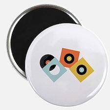 Vinyl Records Magnets