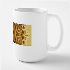 Yellow Gold Groovy Lace Mugs