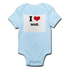 I Love Mail Body Suit