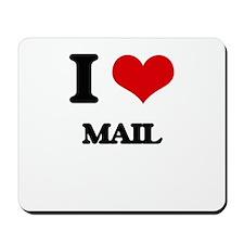I Love Mail Mousepad