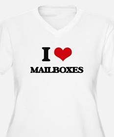 I Love Mailboxes Plus Size T-Shirt