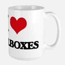 I Love Mailboxes Mugs
