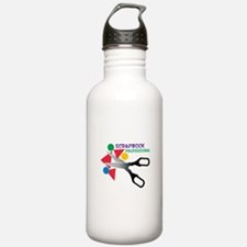 Scrapbook Professional Water Bottle