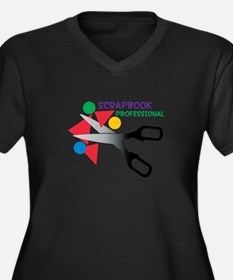 Scrapbook Professional Plus Size T-Shirt