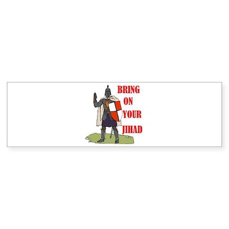 FORGIVE ENEMIES Bumper Sticker