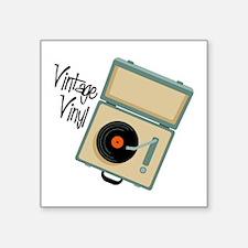 Vintage Vinyl Sticker