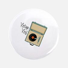 """Vintage Vinyl 3.5"""" Button (100 pack)"""