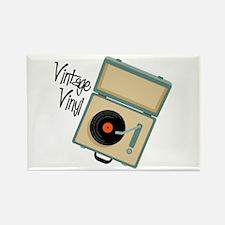 Vintage Vinyl Magnets