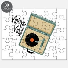 Vintage Vinyl Puzzle