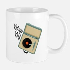 Vintage Vinyl Mugs