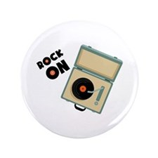 """Rock On 3.5"""" Button (100 pack)"""