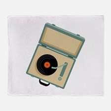 Boxed Phonograph Throw Blanket