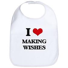 I love Making Wishes Bib