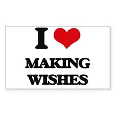 I love Making Wishes Decal