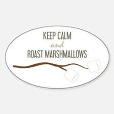 Keep Calm Marshmallows Decal