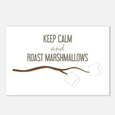 Keep Calm Marshmallows Postcards (Package of 8)