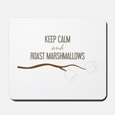 Keep Calm Marshmallows Mousepad