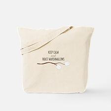 Keep Calm Marshmallows Tote Bag