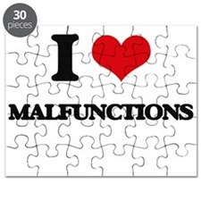 I Love Malfunctions Puzzle