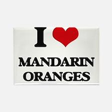 I Love Mandarin Oranges Magnets