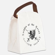 Funny Camelot Canvas Lunch Bag