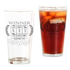 Genetic Lottery Win Drinking Glass