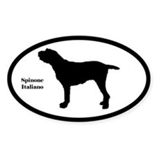 Spinone Italiano Silhouette Decal