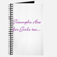 Cute Triumph bonneville Journal