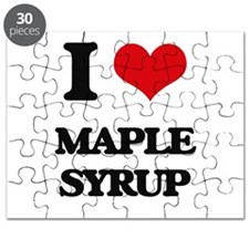 I Love Maple Syrup Puzzle