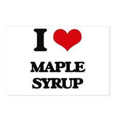 I Love Maple Syrup Postcards (Package of 8)