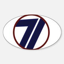 71st Infantry Division Decal