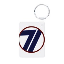 71st Infantry Division Keychains