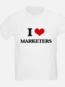 I Love Marketers T-Shirt