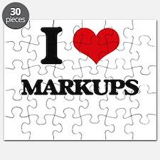 I Love Markups Puzzle