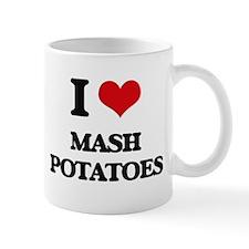 I Love Mash Potatoes Mugs