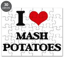 I Love Mash Potatoes Puzzle