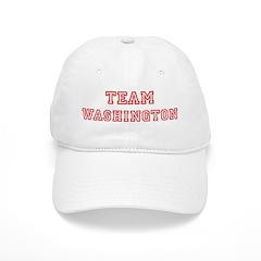 Team WASHINGTON (red) Baseball Cap