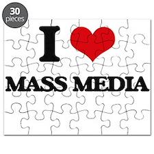 I Love Mass Media Puzzle