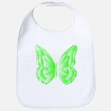 Green Butterfly Bib