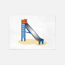 Playground Slide 5'x7'Area Rug