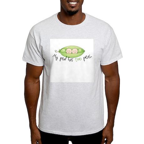 My pod has two peas... Light T-Shirt