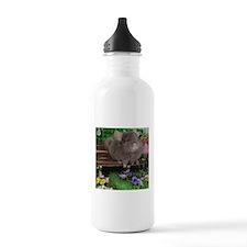 chinchilla dark tan Water Bottle
