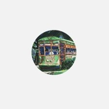New Orleans Streetcar Mini Button