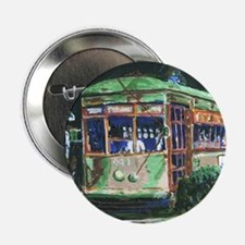 "New Orleans Streetcar 2.25"" Button"