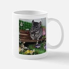 ebony chinchilla Mugs