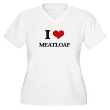 I Love Meatloaf Plus Size T-Shirt