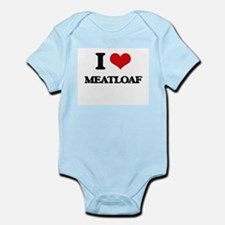 I Love Meatloaf Body Suit